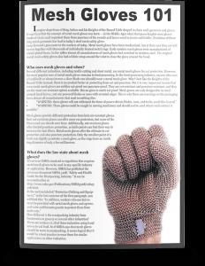 Mesh Gloves 101 White Paper
